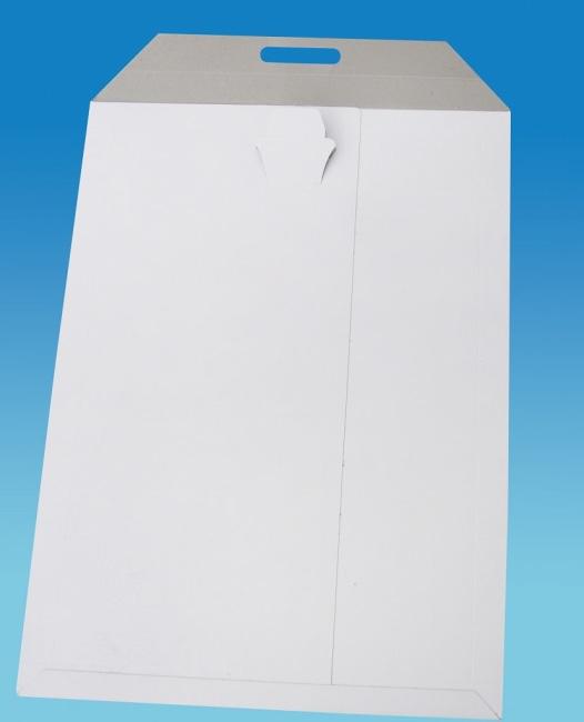 Kartonová prostor. obálka formát B4 zasouvací uzávěr rozměr 24,5 x 35 cm, 350g/m2