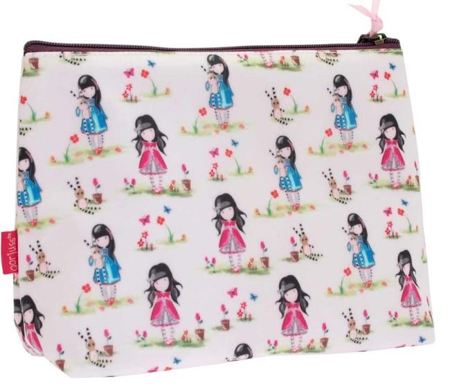 Kosmetická taška velká Santoro London – Patel Pattern Ladybird, 23 x 18.5 x 9.5cm