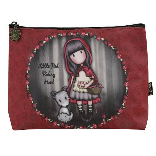 Kosmetická taška velká Santoro London - Little Red Riding Hood