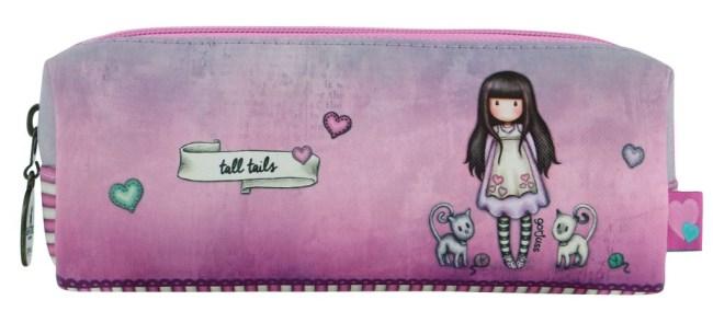 Pouzdro/kosmetická taška Santoro London –Tall Tails, 7.5 x 11 x 20 cm