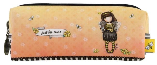 Pouzdro/kosmetická taška Santoro London  –Bee-Loved (Just Bee-Cause), 7.5 x 11 x 20 cm