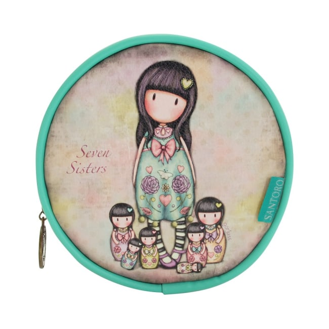 Kruhová taška na kosmetiku Santoro London - Seven Sisters, Rozměry: 13 x 13 x 5 cm