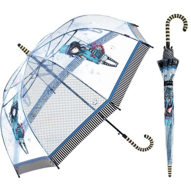 Průhledný deštník Santoro London - The Hatter