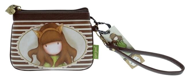 Peněženka s řemínkem Santoro – The Fox, 11 x 15 x 1.5cm