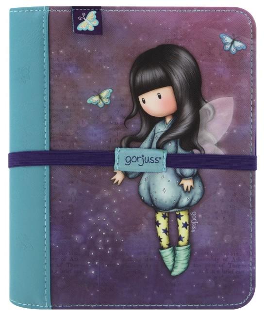 Kroužkový cestovní zápisník Santoro London - Bubble Fairy