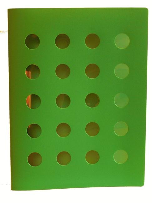Desky PP s rychlosvorkou, A4 ,zelená,modrá