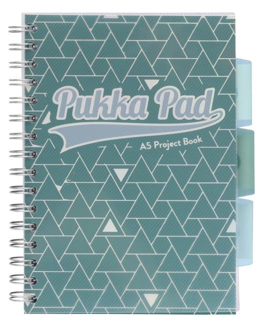 Pukka Pad projektový  blok Glee A5, papír 80g,100 listů, zelený