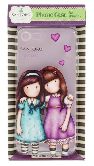 Silikonové pouzdro na iPhone 7 Santoro - We Walk Together, 8 x 6.9 x 13.8cm