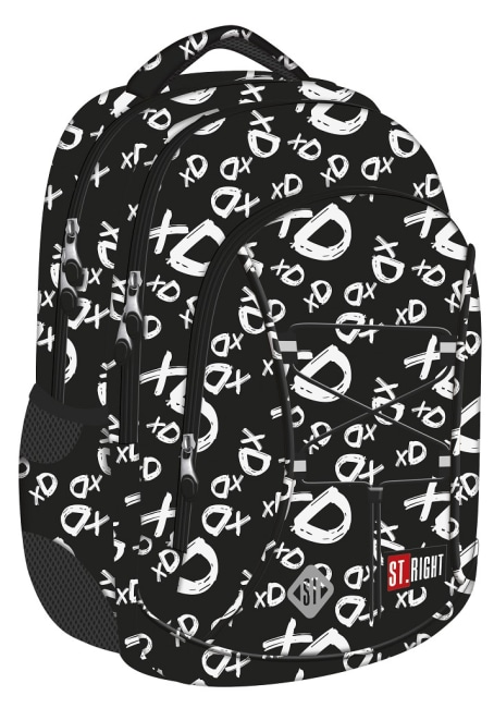 studentský batoh St.RIGHT - xD, 3 komorový, BP32
