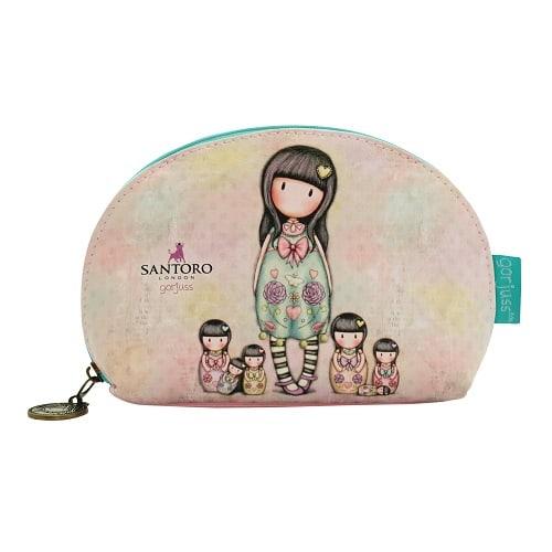 Kosmetická taška Santoro  London - Seven Sisters , Rozměry: 15 x 11 x 5,5 cm