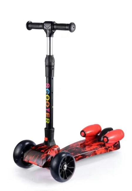 dětská koloběžka scooter, motiv Fire