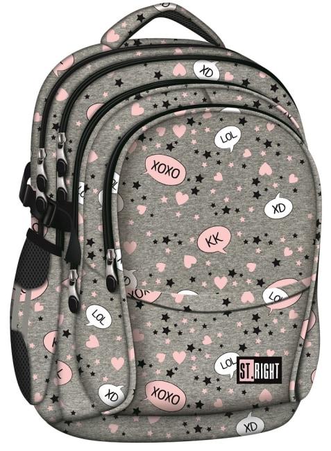 studentský batoh St.RIGHT - SLANG, 4 komorový, BP01