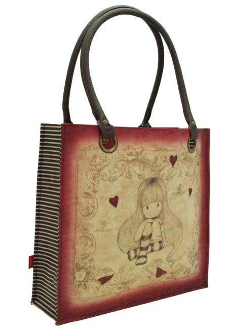 Nákupní taška velká Santoro London – The Collector, Rozměry: 35 x 35 x 12 cm