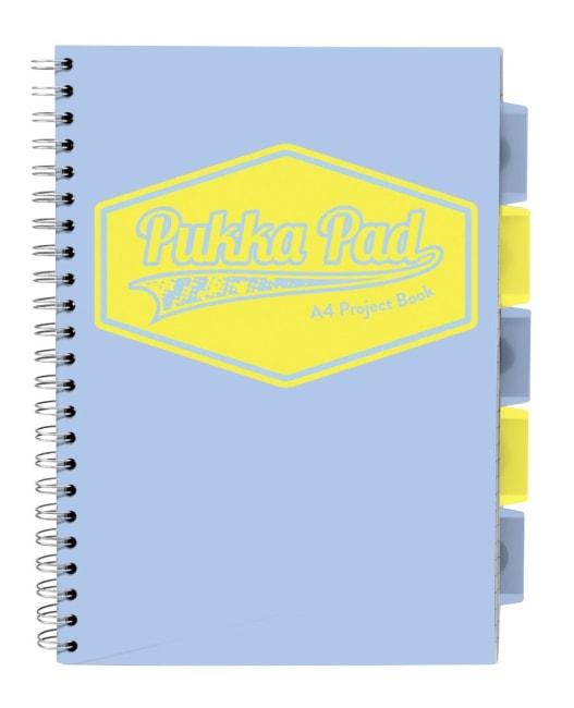 Pukka Pad projektový  blok Pastel A4, papír 80g,100 listů, světle modrý