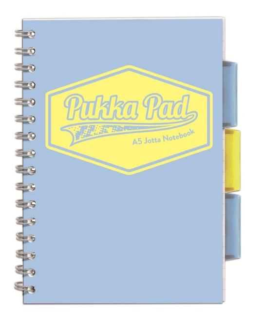 Pukka Pad projektový  blok  Pastel A5, papír 80g,100 listů, světle modrý