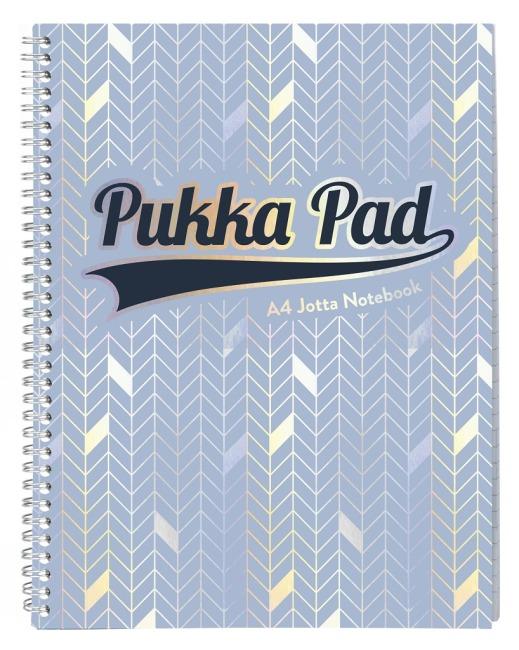 Pukka Pad spirálový blok GLEE Jotta A4+, papír 80g, 100listů, světle modrý