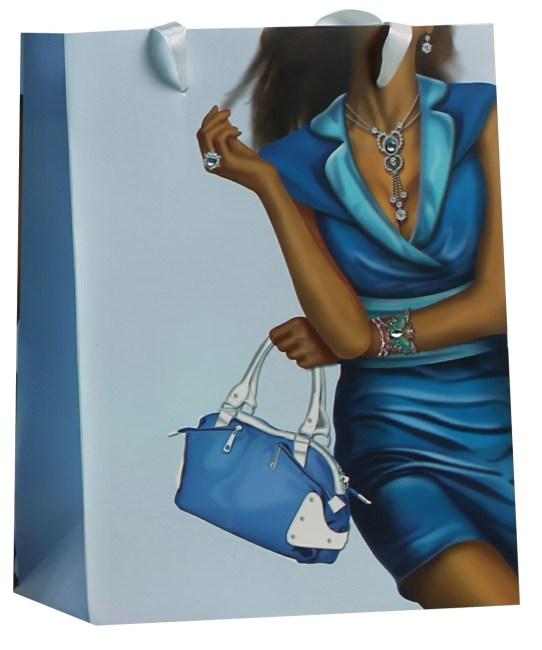 Designová dárková taška, 18 x 23 x 9cm