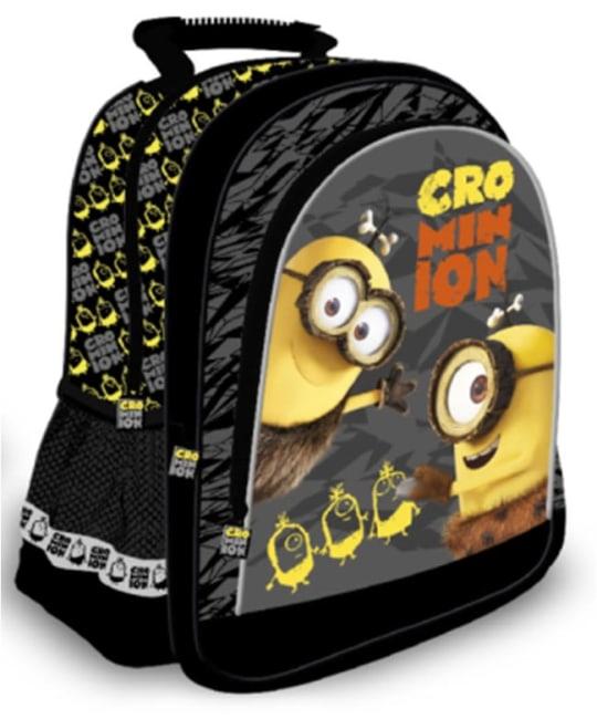 Školní batoh 15 Mimoni, šedá