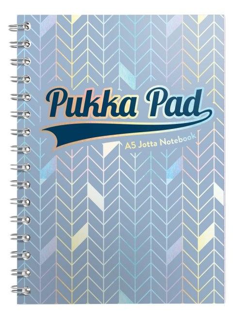 Pukka Pad spirálový blok GLEE Jotta A5, papír 80g, 100listů, světle modrý