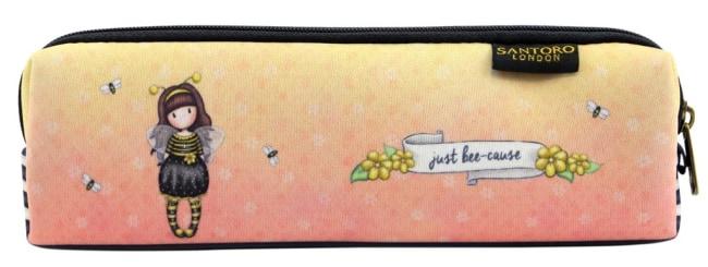 Neoprenové pouzdro na zip Santoro London – Bee-Loved (Just Bee-Cause), 6 x 20.4 x 4.5 cm