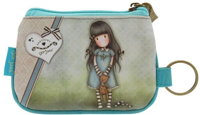 Peněženka / klíčenka Santoro – Forget Me Not, 9 x 13 x 1cm