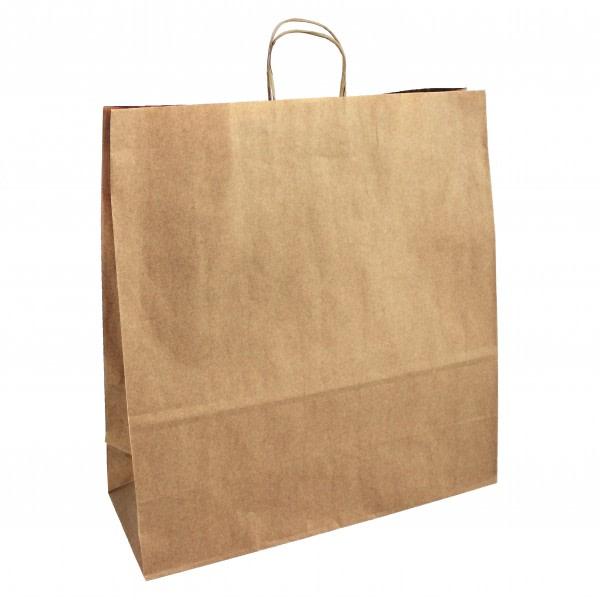 Papírová taška hnědá 45x17x48 kroucené ucho Toptwist